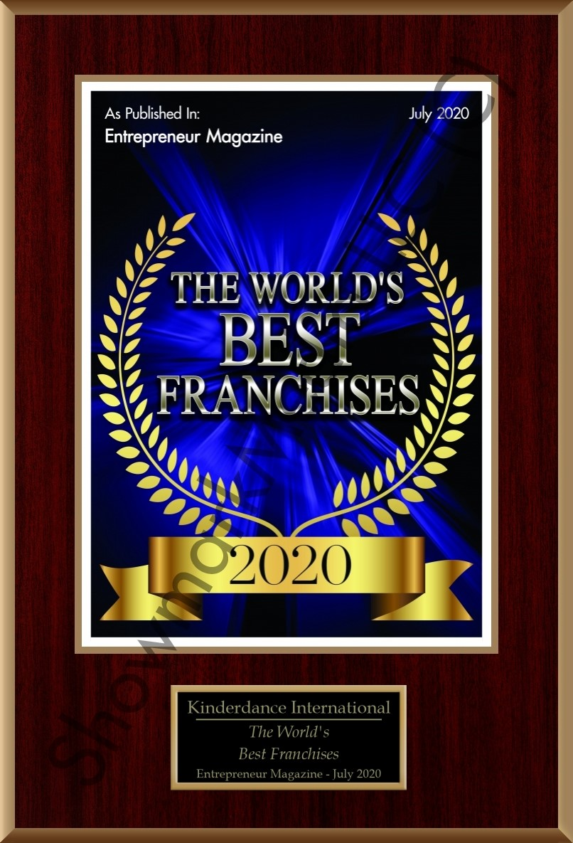 Kinderdance® International is ranked by Entrepreneur Magazine as the World's Best Franchise to own.